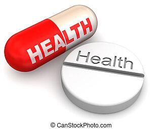 pills., 健康