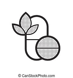 Pills Alternative medicine icon