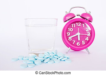 Pills And Alarm Clock