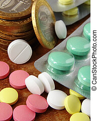 pills and coins 1