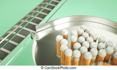 Pills and drugs production line and choosing right one