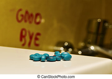 pills and text good bye