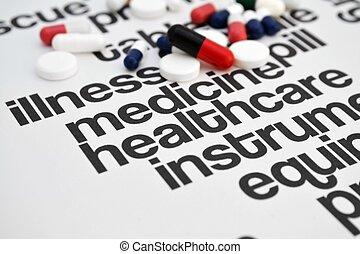 Pills concept