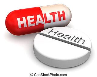 Pills. Health