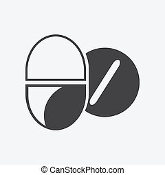 Pills Health Medical Icon