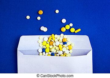 Pills in the Envelope