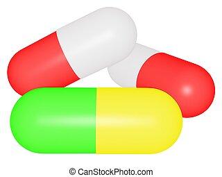 Pills isolated 1