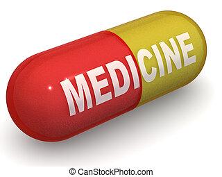 Pills. Medicine