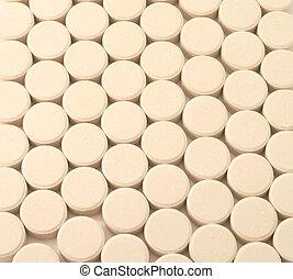 Pills medicine background  textured tablets