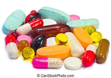 pills medicine set
