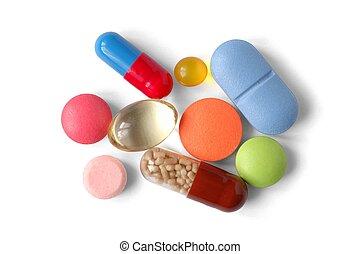 Pills - Isolated pills