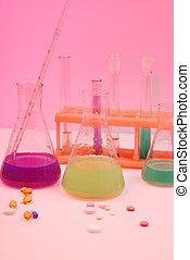 pills., science, équipement médical