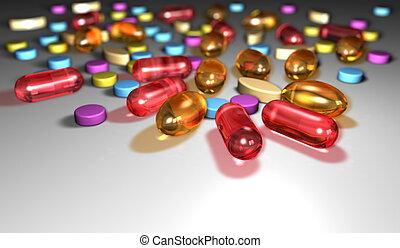 Pills - Closeup of pills