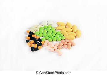 pills - a photo of medicin equiment and pills