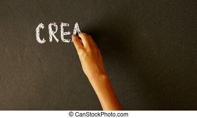 pilność, twórczość, powodzenie