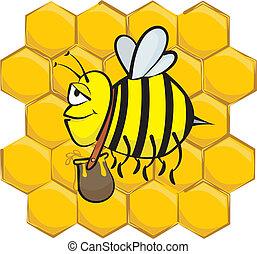 pilny, pszczoła
