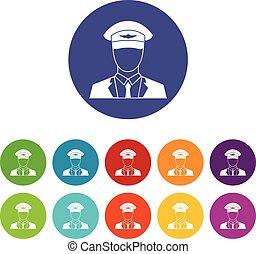 Pilot set icons
