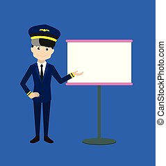 Pilot - Showing on White Board