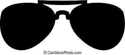 piloto, óculos