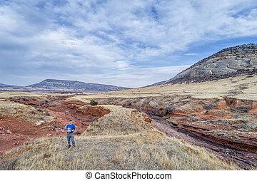 piloto, zangão, foothills, colorado