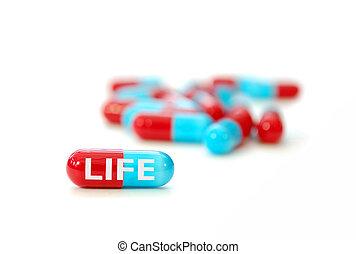 pilule, vie