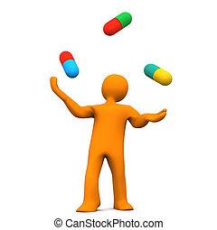 pilules, homoncule