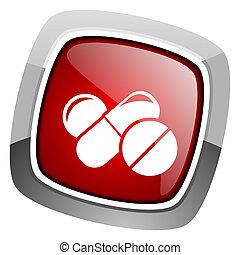 pilules, icône