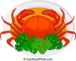 pimentão, crab.