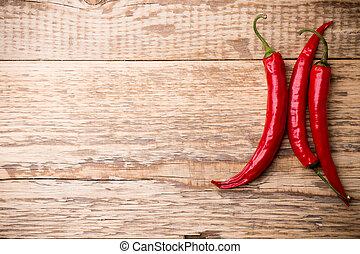 piment, pepper.
