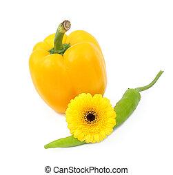 pimenta, flor