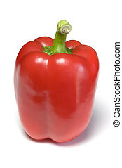 pimenta, vermelho