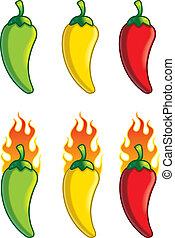 pimentas, caricatura