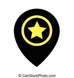Pin location icon