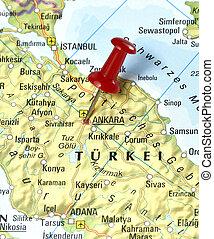 pin set on Ankara