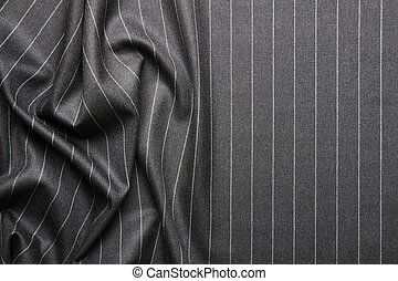 Pin striped suit texture