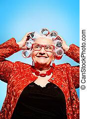 pin-up, nagymama