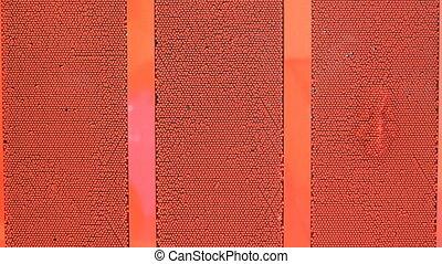 Pin wall and three faces