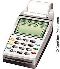 PIN wireless card reader