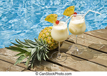 Pina Colada by the Pool