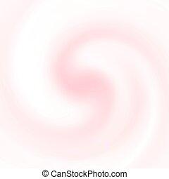 pinc, バニラ, 抽象的, texture., 背景, 渦巻, ∥あるいは∥, クリーム
