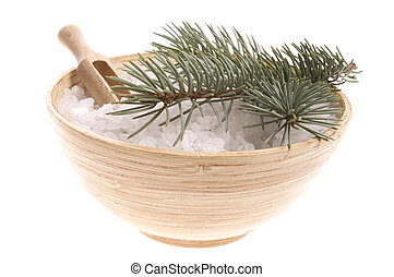 pine bath items. alternative medicine - pine bath items. sea...