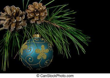 Pine bough bauble