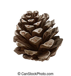 pine cone illustrations and clip art 4 720 pine cone royalty free rh canstockphoto com pinecone clipart black and white pinecone clip art