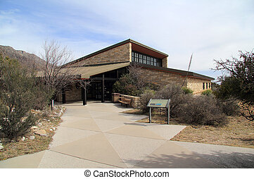 Pine Springs Visitors Center, Guadalupe Mountains National Park, Texas