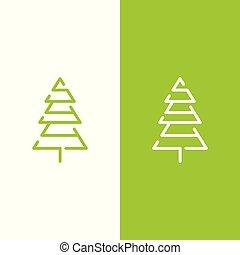 Pine tree Vector logo template
