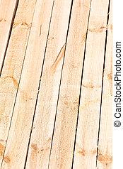Pine wood boards