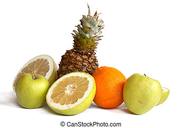 Pineapple and others fruits