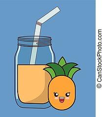 kawaii food icon image
