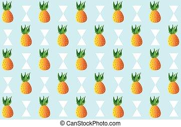 Pineapple Fruit pattern