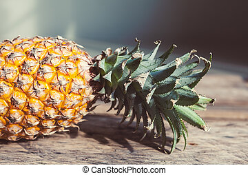 Pineapple In A Light